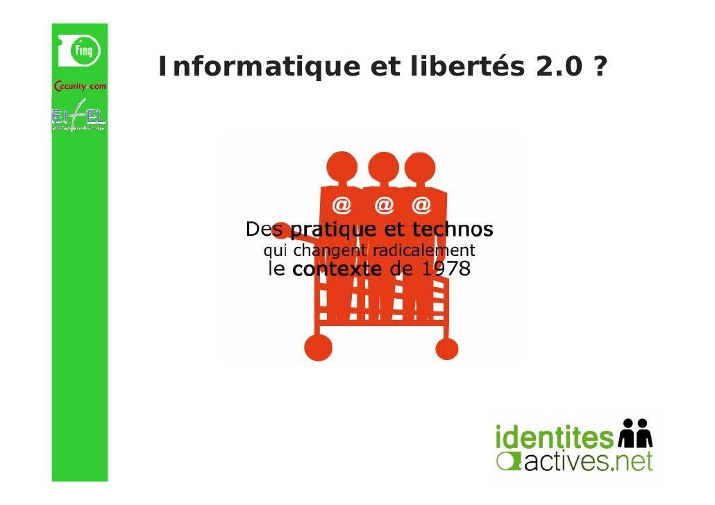 Informatique et libertés 2.0 ?