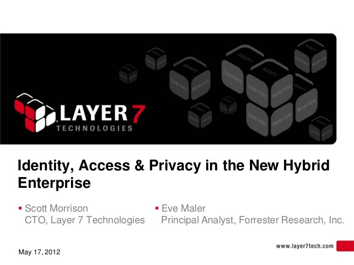 Identity access and privacy in the new hybrid enterprise slides