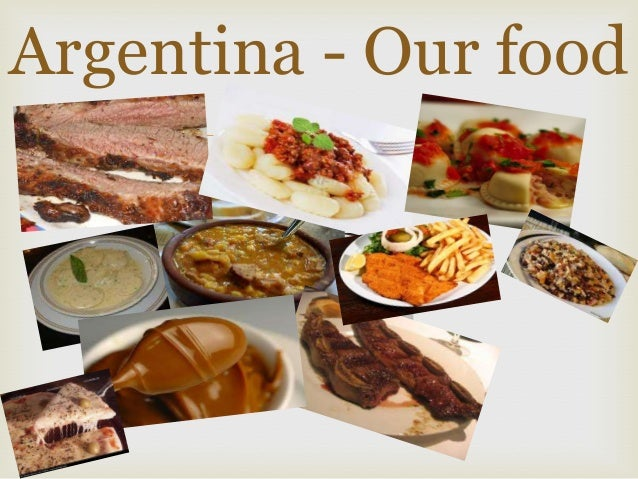 Argentinian Teens: Our Diet