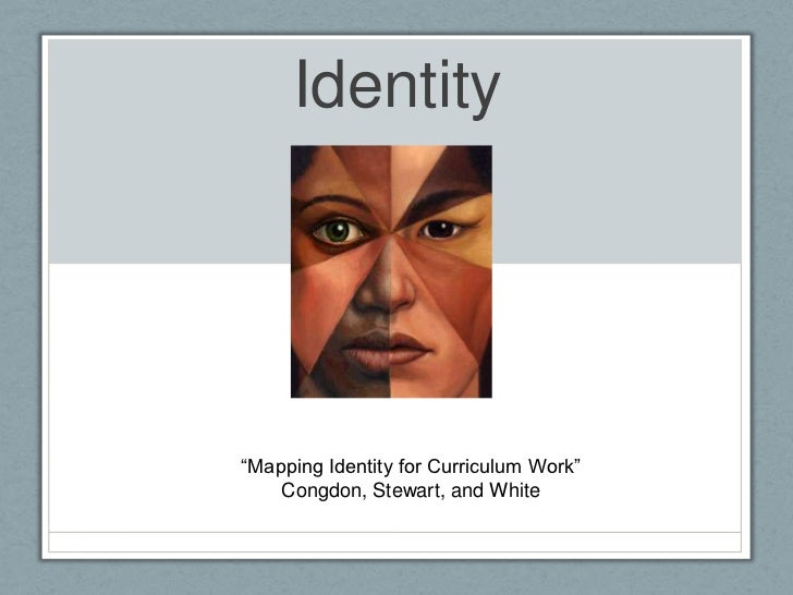 """Identity""""Mapping Identity for Curriculum Work""""    Congdon, Stewart, and White"""
