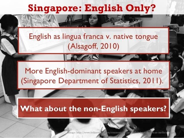 Good ENGLISH speakers ONLY!!?