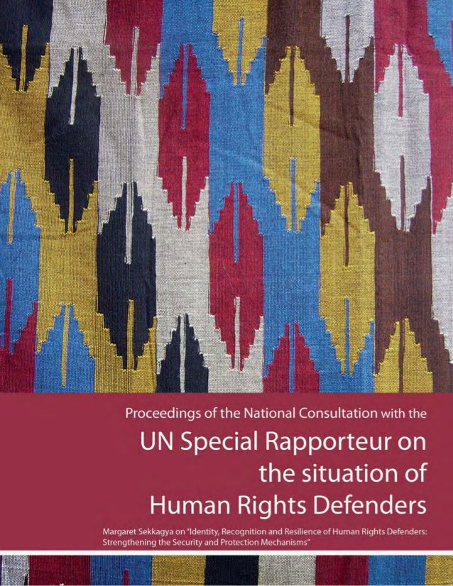 25-26 November, 2010 Kathmandu, Nepal Proceedings of the National Consultation with the UN Special Rapporteur on the situa...