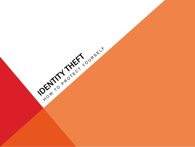 Identity Theft: Form of stealing an individuals identity in which someone pretends to be someone else by assuming that per...