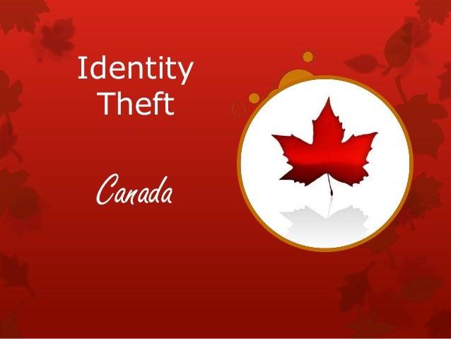 Identity Theft  Canada