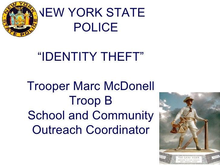 Identity Theft Lake Placid 2012