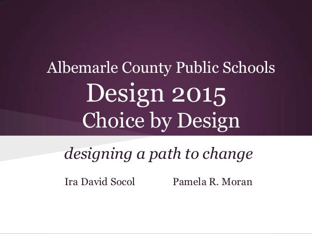 Albemarle County Public Schools Design Think