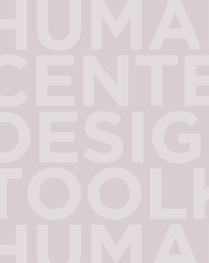 Human Centered Design_toolkit