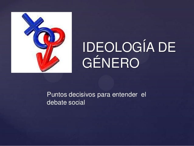 Ideologia de genero agl