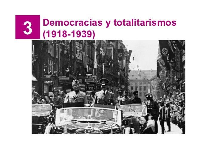 3 Democracias y totalitarismos (1918-1939)