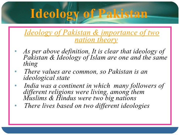 "a look at the two nations theory in the case of pakistan ""national action plan"" in pakistan and state theory how does the society see itself among the comity of nations so we have a case where an entity holds."