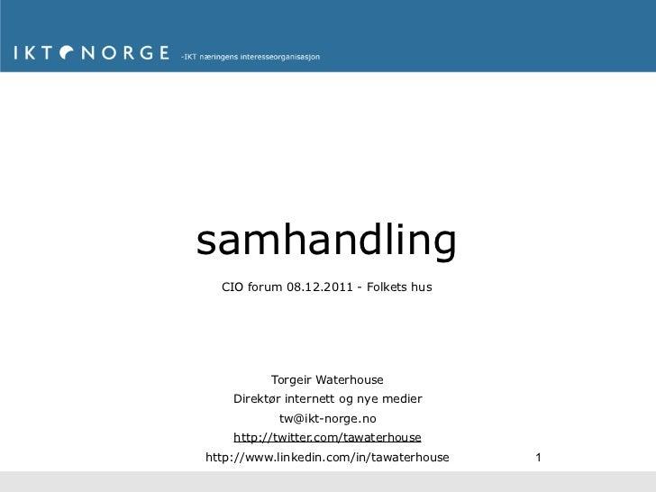 samhanding - IDG CIO Forum