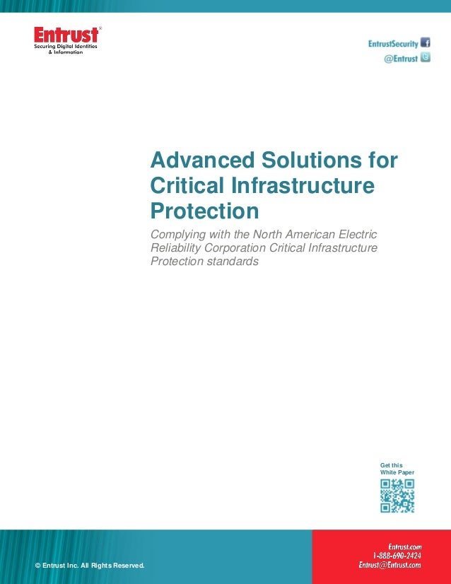 Advanced Solutions for                                      Critical Infrastructure                                      P...