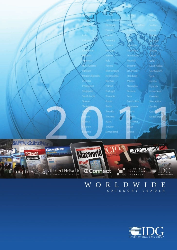 IDG Worldwide Overview