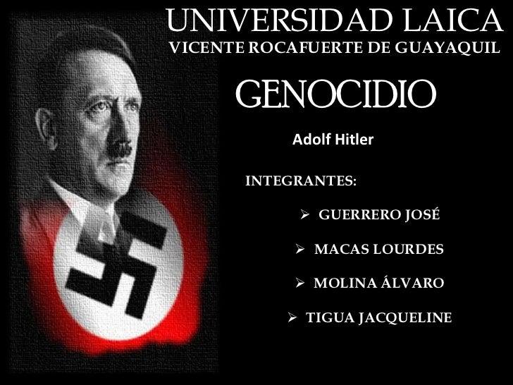 Hitler Genocidio