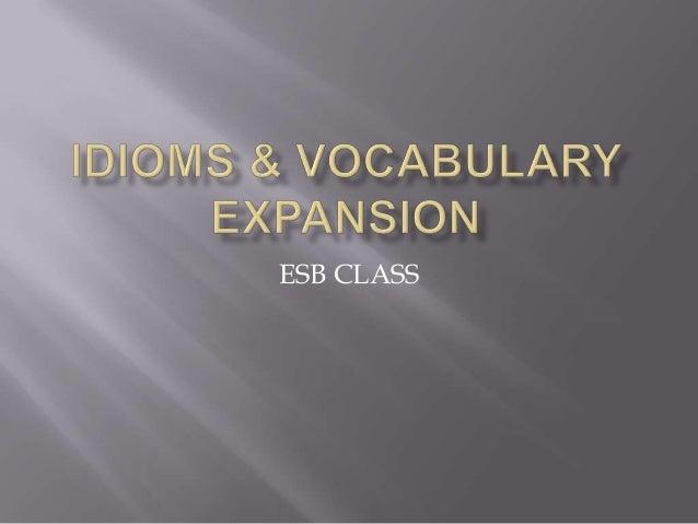 ESB CLASS