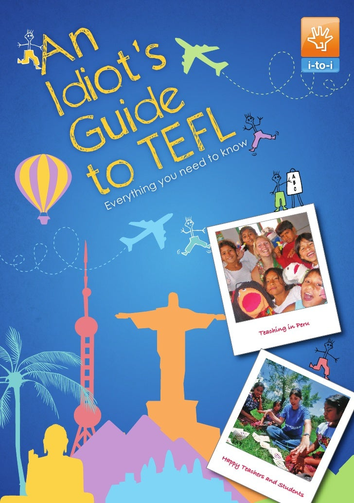 An Idiots Guide to TEFL