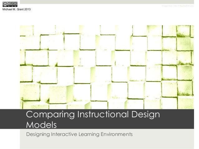 Comparing Instructional Design Models