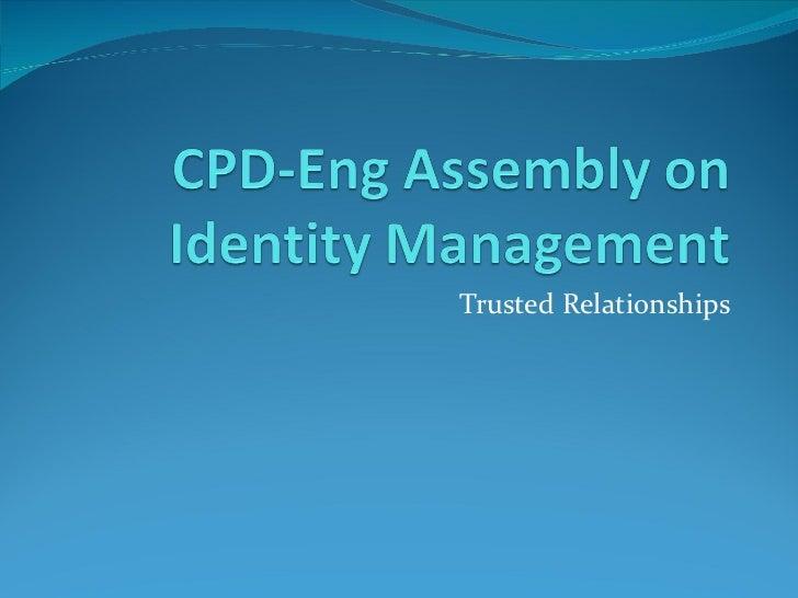 Online identity management workshop