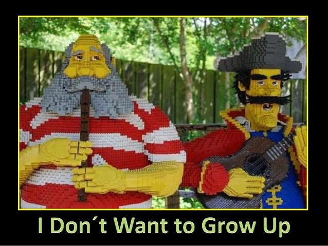 I Don´t Want To Grow Up (Fantastic Lego Creations)