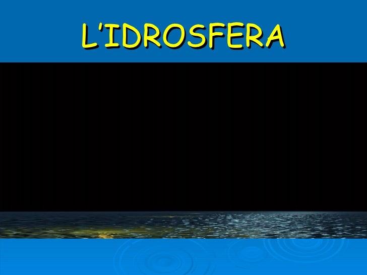 Idrosfera (2)