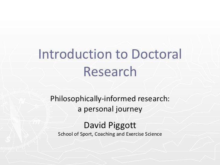 Researcher Education Programme - Philosophy
