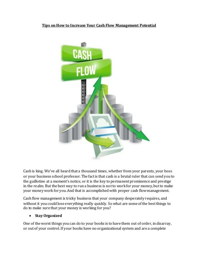 Cash Flow Management in Business - thebalancesmb.com