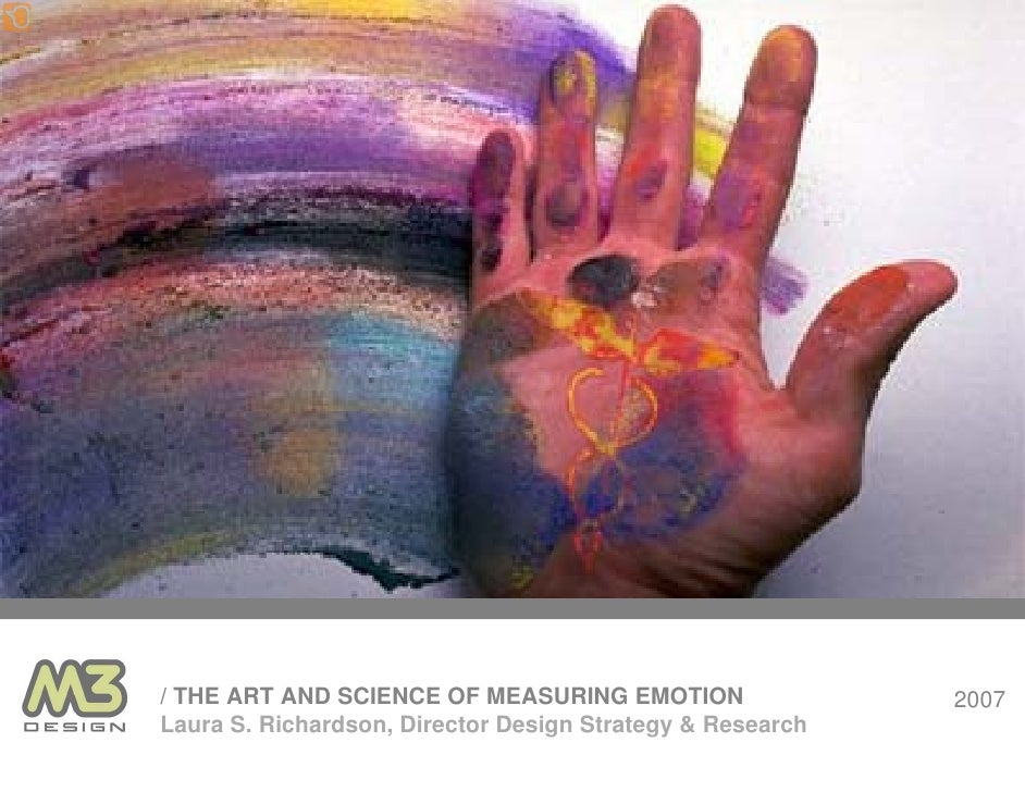 The Art and Science of Measuring Emotion (in product design)