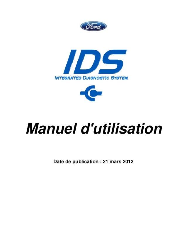 Manuel d'utilisation Date de publication : 21 mars 2012