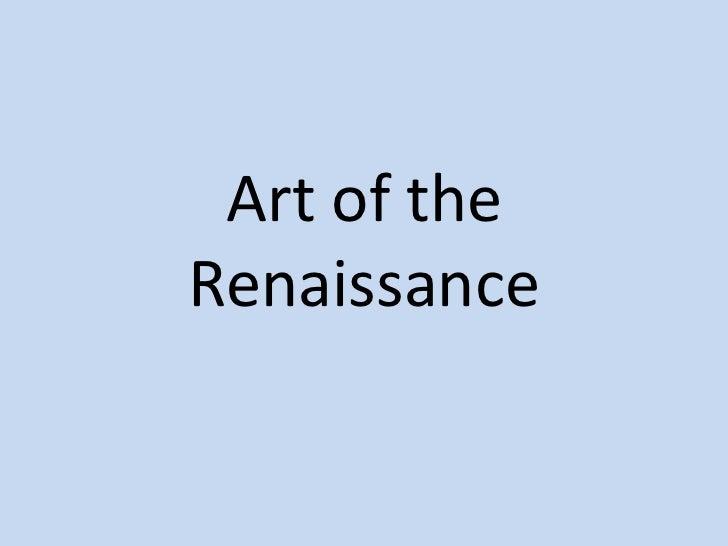 Idt 7061.art of the renaissance.christina brown