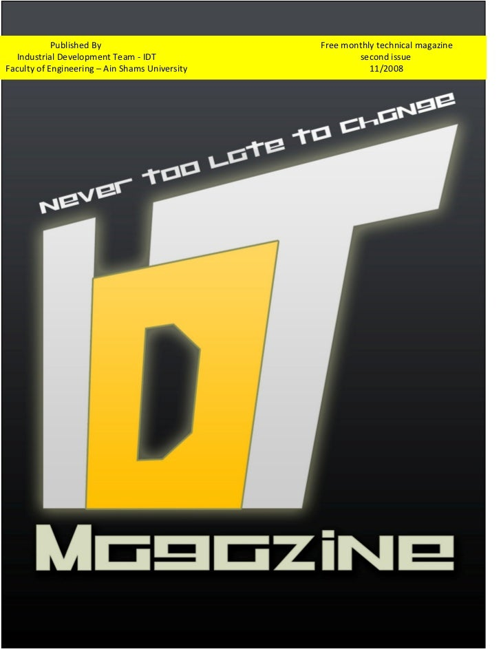 Idt magazine 2nd issue 11 2008