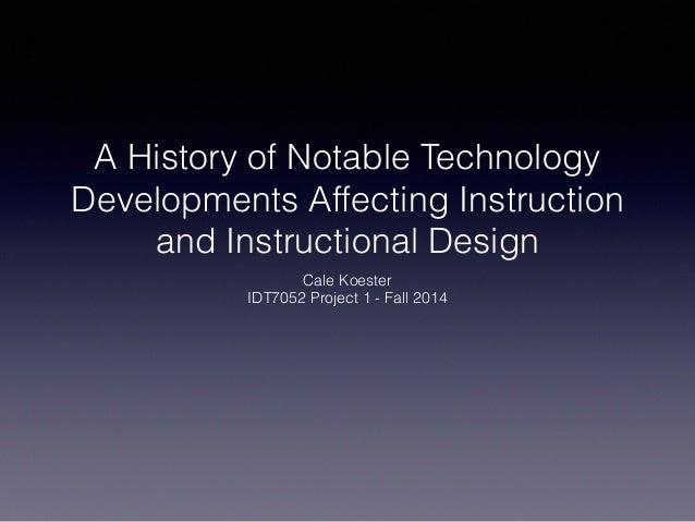 HISTORY OF EDUCATIONAL TECHNOLOGY By Viviana Fleitas and Mariana ...