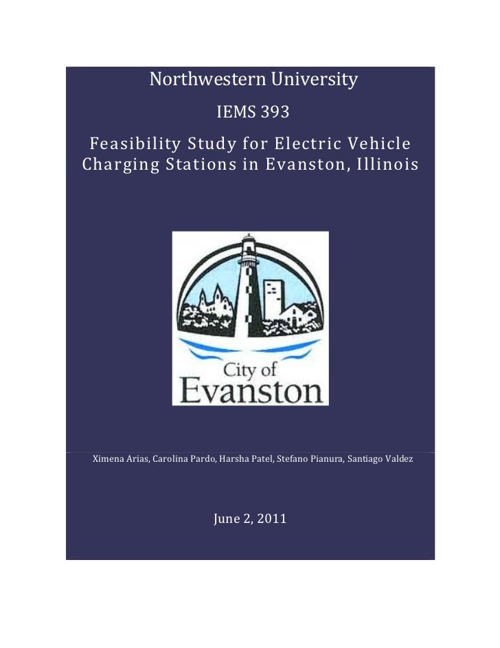 Ie 393 final report   ev charging evanston-STUDENT GENERATED