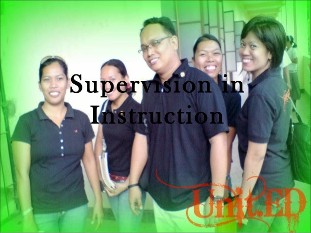 Supervision in Instruction