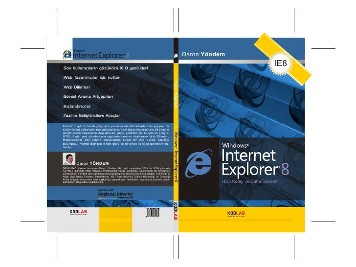 Internet Explorer 8 Kitapçığı