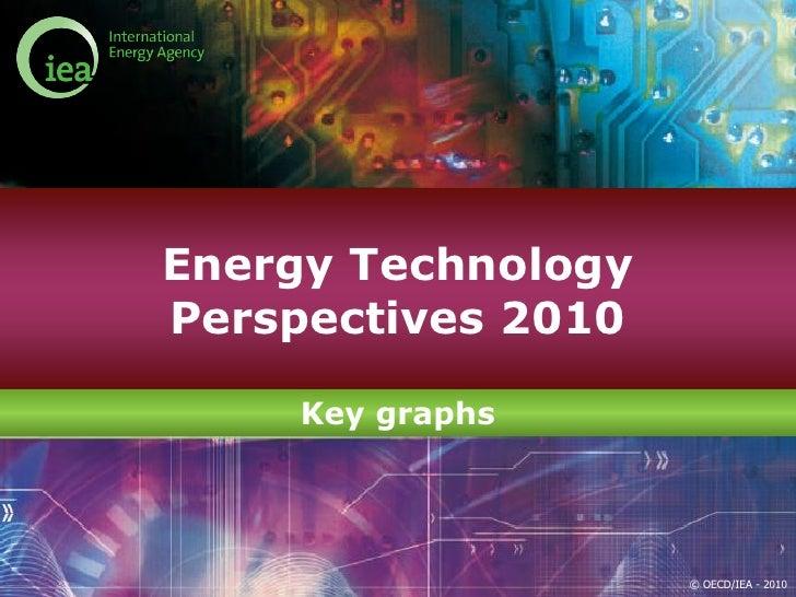 Energy TechnologyPerspectives 2010    Key graphs                    © OECD/IEA - 2010