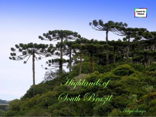 Highlands of South Brazil Helga design