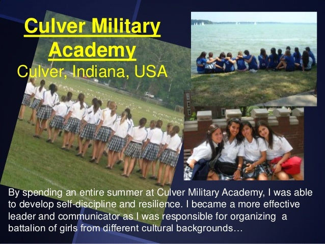 Service academy essay