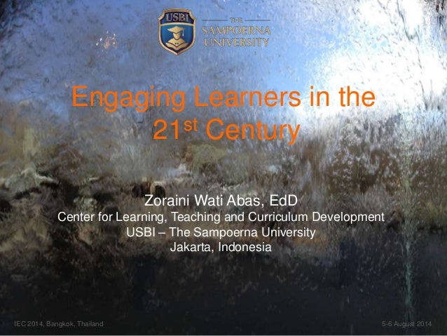 Engaging Learners in the 21st Century