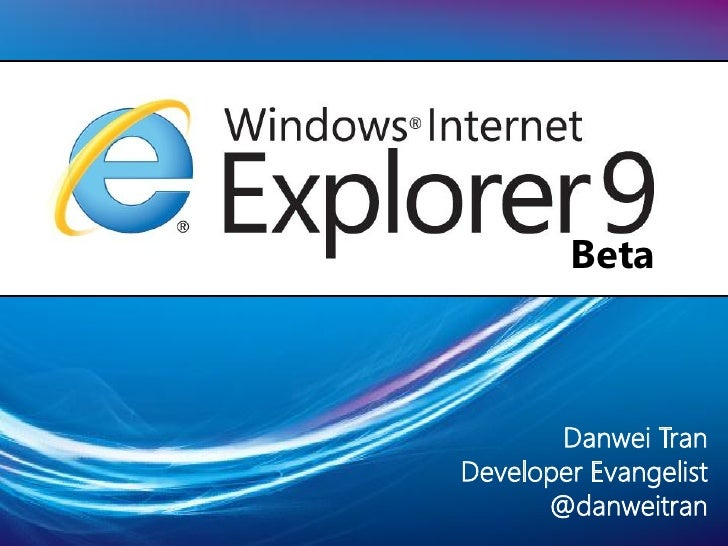"""IE9 - """"the good, the bad, the ugly"""""""