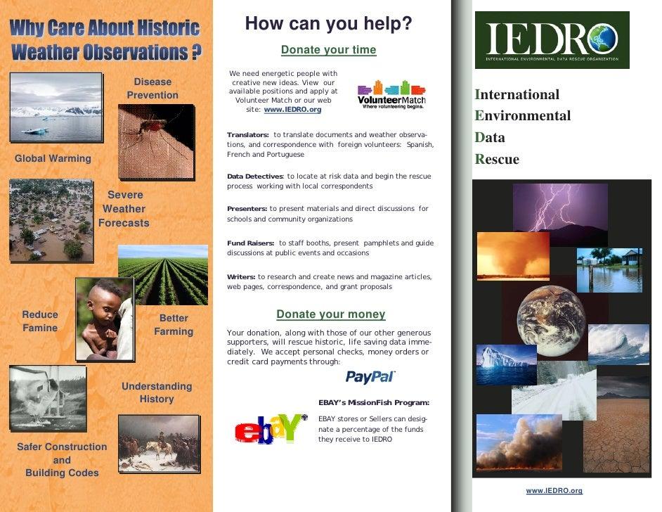 IEDRO Brochure