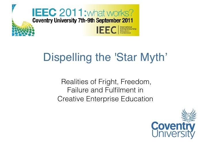Dispelling the 'Star Myth'