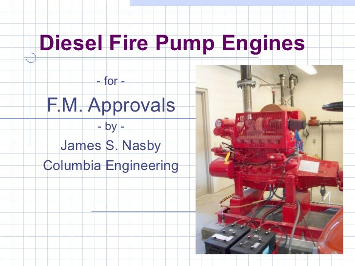 IEEE-IAS 2012.02.18 Presentation - Fire Pump Engines