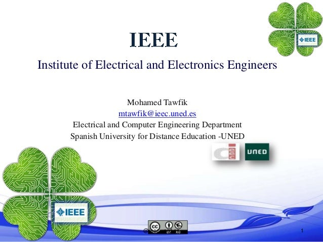 Institute of Electrical and Electronics Engineers                       Mohamed Tawfik                     mtawfik@ieec.un...