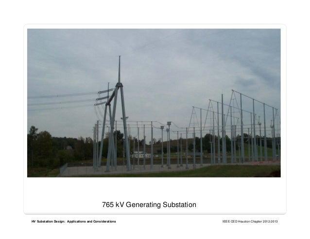 Ieee substation design for Substation design