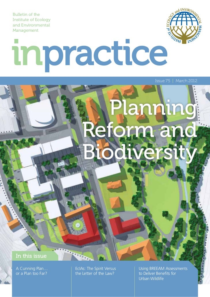 Bulletin of theInstitute of Ecologyand EnvironmentalManagement                                                          Is...