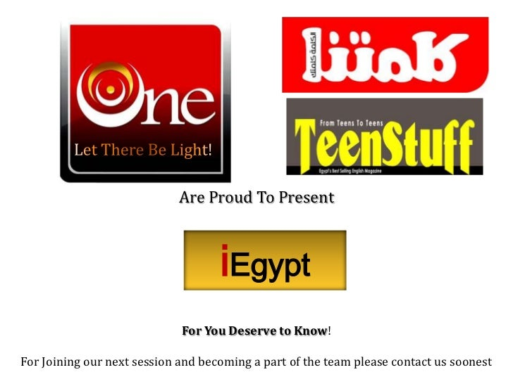 Let There Be Light!<br />Are Proud To Present<br />iEgypt<br />For You Deserve to Know! <br />For Joining our next session...