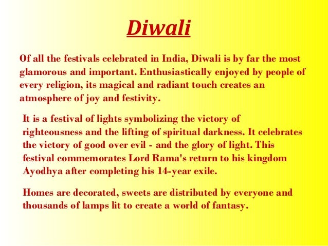 short essay on my favourite festival diwali in english