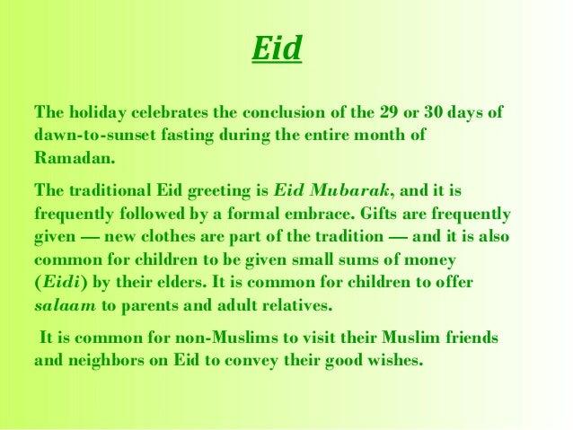 short essay on eid ul fitr in english