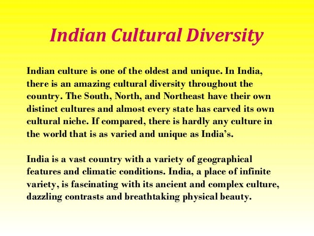 Indian Culture And Heritage Essay