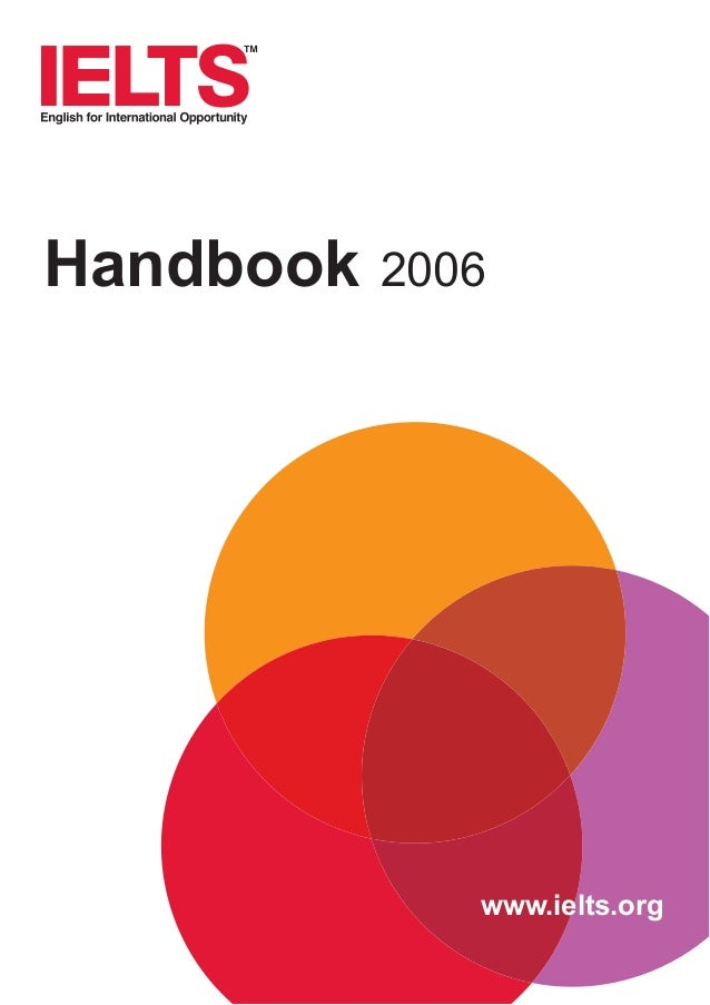 Handbook  2006  www.ielts.org